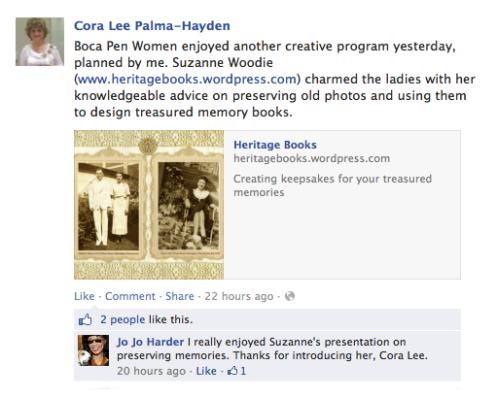 Cora Lee Palma National League of American Pen Women