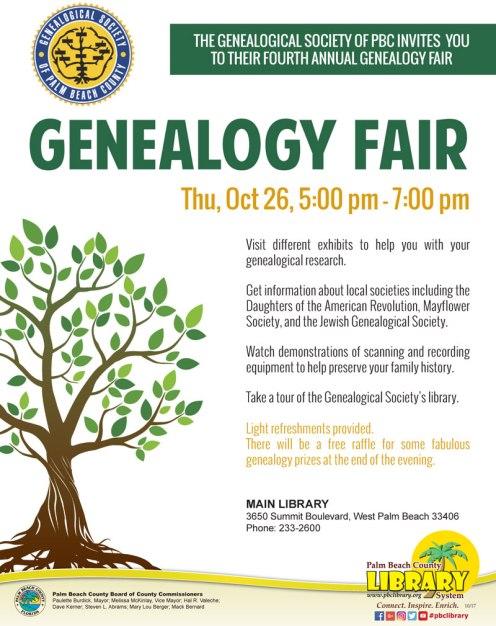 Geneaolgy-Fair